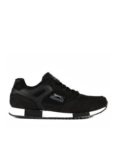 Slazenger Tork Erkek Koşu Ayakkabısı Siyah